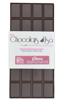 Tablette de chocolat du Ghana